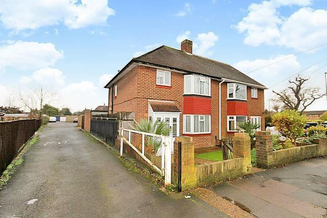 Thumbnail Semi-detached house for sale in Ashford Road, Feltham, Middlesex