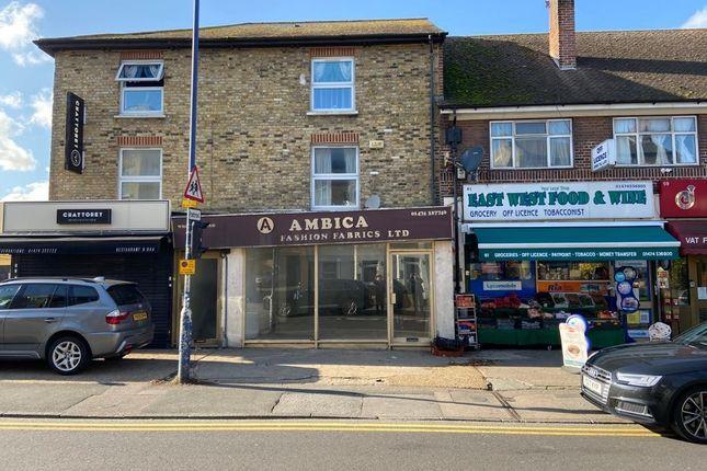 Thumbnail Retail premises to let in Wrotham Road, Gravesend, Kent