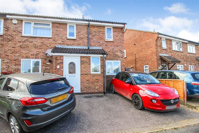 Thumbnail Semi-detached house for sale in Midsummer Road, Snodland, Kent