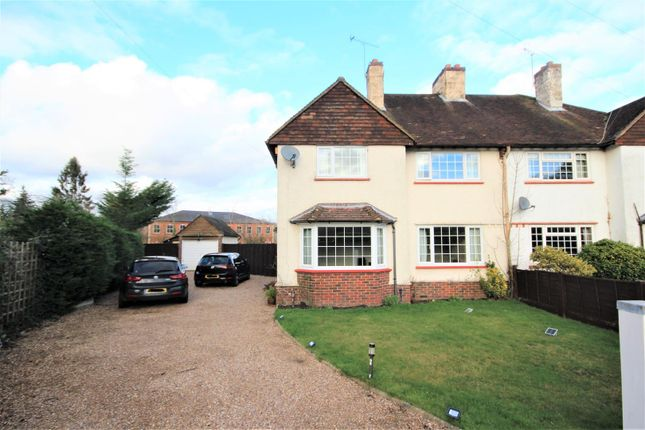 4 bed semi-detached house to rent in Field Way, Ripley, Woking GU23
