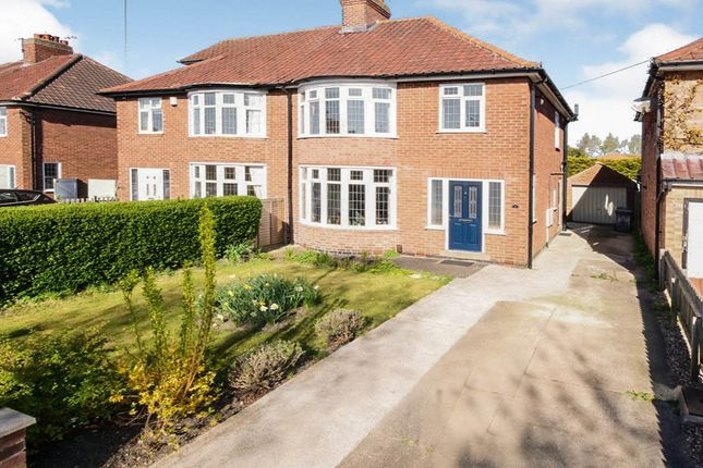 Thumbnail Semi-detached house for sale in Forest Grove, York, North Yorkshire