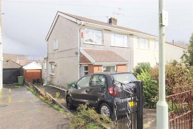 Semi-detached house for sale in Brookdale Court, Church Village, Pontypridd