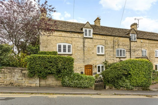 Thumbnail End terrace house for sale in Rock Cottages, The Butts, Rodborough, Stroud