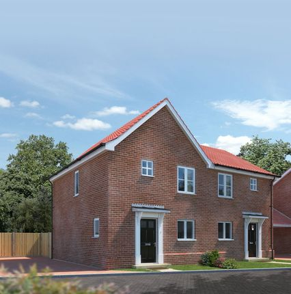 Thumbnail Semi-detached house for sale in Plot 31, Springfield Grange, Acle