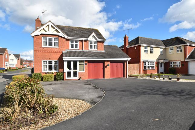 Thumbnail Detached house for sale in Swan Drive, Droitwich