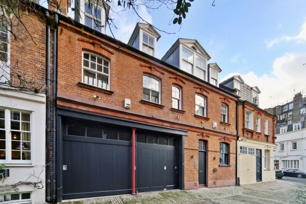 Thumbnail Property to rent in Clover Mews, London
