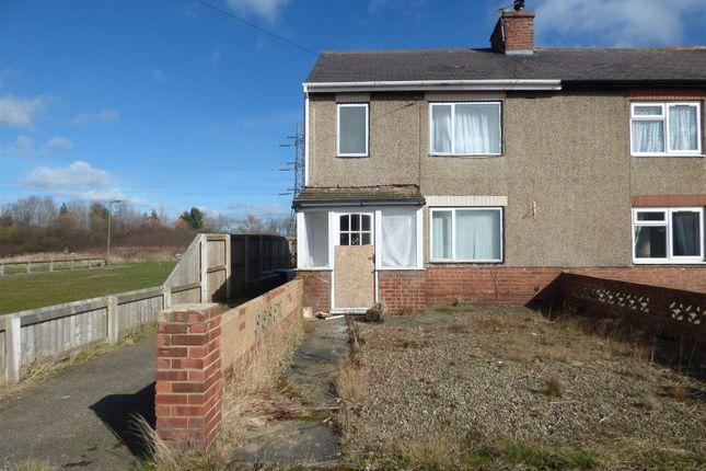 Thumbnail Semi-detached house for sale in Waterfield Road, East Sleekburn, Bedlington