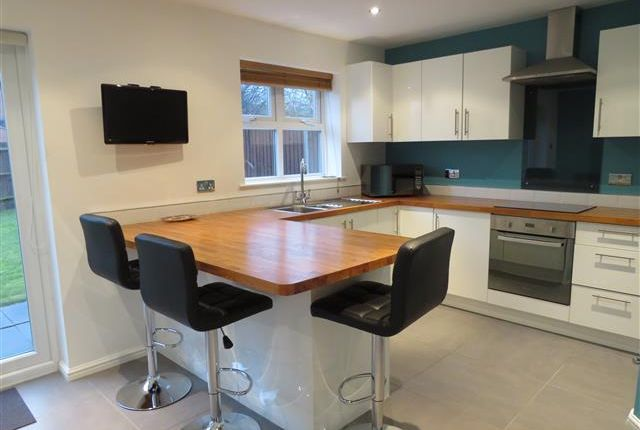 Thumbnail Detached house to rent in Heawood Way, Thorpe Astley, Leicester