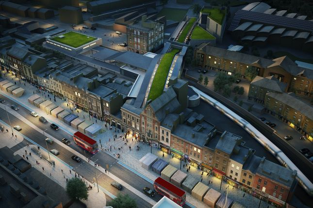 Whitechapel Crossrail Station
