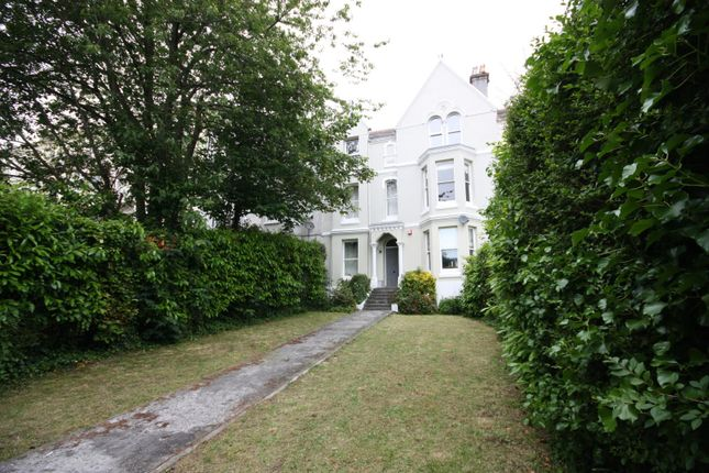 Thumbnail Flat to rent in 23 Connaught Avenue, Plymouth