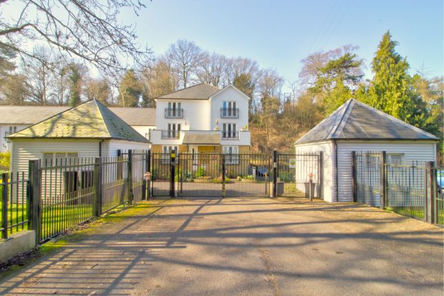Gated Entrance of Hayle Mill Road, Maidstone ME15