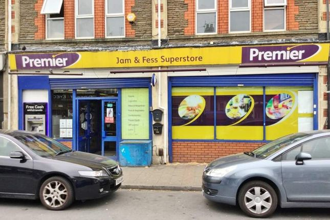 Thumbnail Retail premises for sale in Corporation Road, Cardiff