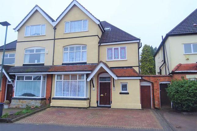 Thumbnail Semi-detached house for sale in Norman Road, Northfield, Birmingham