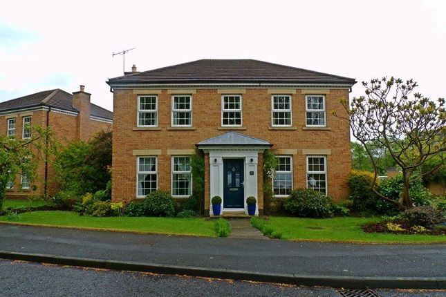 Thumbnail Detached house for sale in Denewood, Forest Hall, Newcastle Upon Tyne