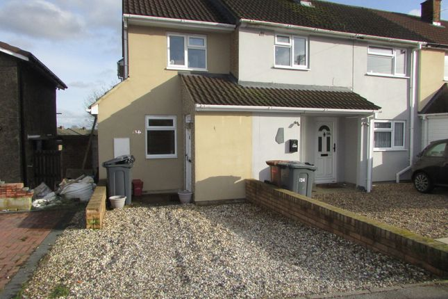 Thumbnail End terrace house for sale in The Paddocks, Stevenage