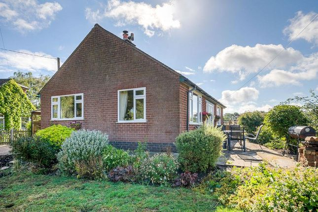 Thumbnail Detached bungalow for sale in Manor Road, Ullesthorpe, Lutterworth