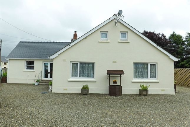 Thumbnail Detached bungalow for sale in Saron, Saron, Llandysul, Carmarthenshire