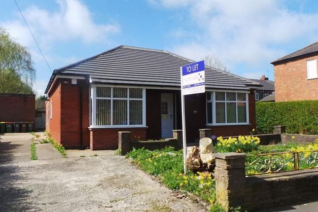 Thumbnail Detached bungalow to rent in South Meadow Lane, Preston