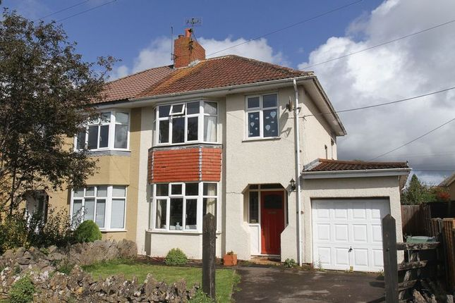 Thumbnail Semi-detached house for sale in Bishops Road, Cleeve, Bristol
