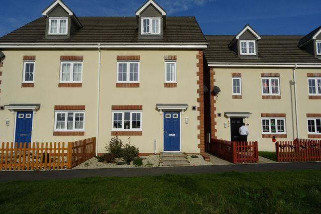 Thumbnail Terraced house to rent in Heol Bryncethin, Sarn, Bridgend