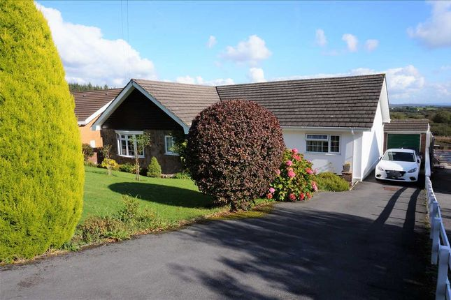 Thumbnail Detached bungalow for sale in Heol Y Nant, Llannon, Llanelli