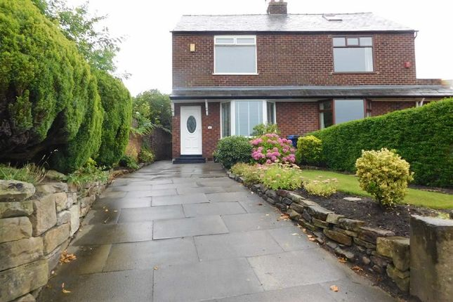 Thumbnail Semi-detached house to rent in Strines Road, Marple, Stockport
