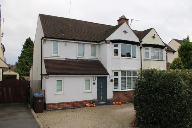 Thumbnail Semi-detached house for sale in Allestree Lane, Allestree, Derby, Derbyshire