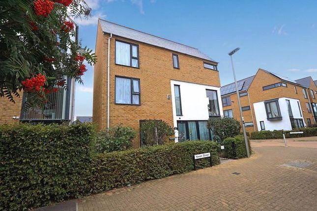 Thumbnail Detached house for sale in Haven Street, Broughton, Milton Keynes
