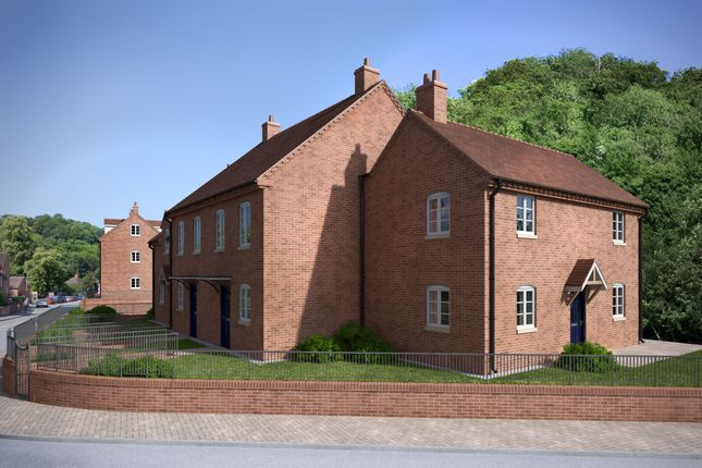 Thumbnail Semi-detached house for sale in Ironbridge, Shropshire
