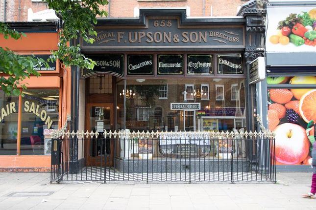 Retail premises to let in High Road, Tottenham, London