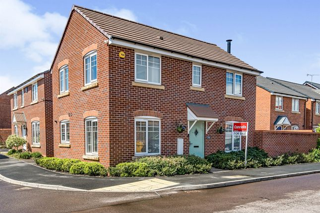 Thumbnail Detached house for sale in Wigse Avenue, Kidderminster