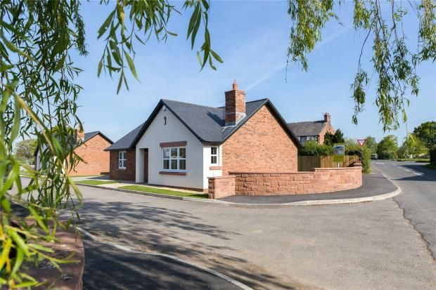 Thumbnail Detached bungalow for sale in Croftlands Close, Great Orton, Carlisle