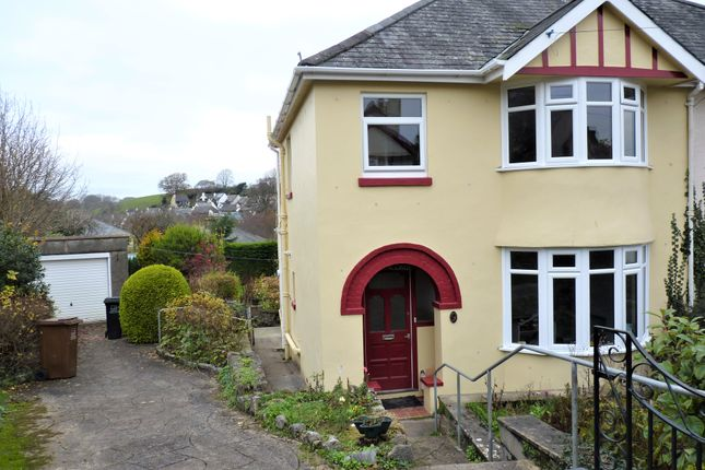 Thumbnail Semi-detached house to rent in Farwell Road, Totnes
