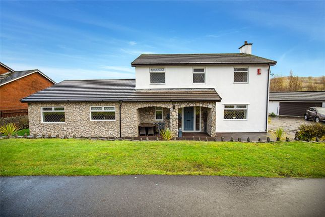 Thumbnail Detached house for sale in Canal Row, Abercanaid, Merthyr Tydfil