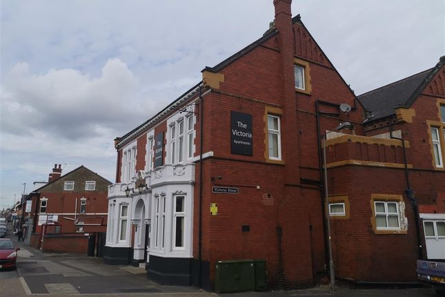 1 bed flat to rent in Victoria House Apartments, Kirkby Road, Hemsworth, Pontefract WF9