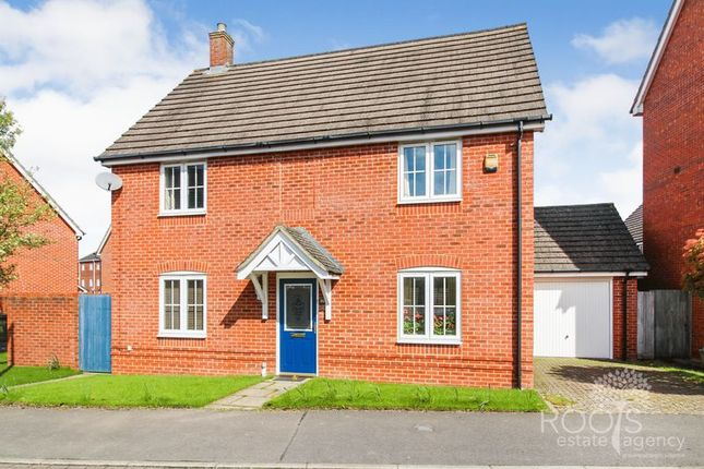Thumbnail Detached house for sale in Battalion Way, Thatcham