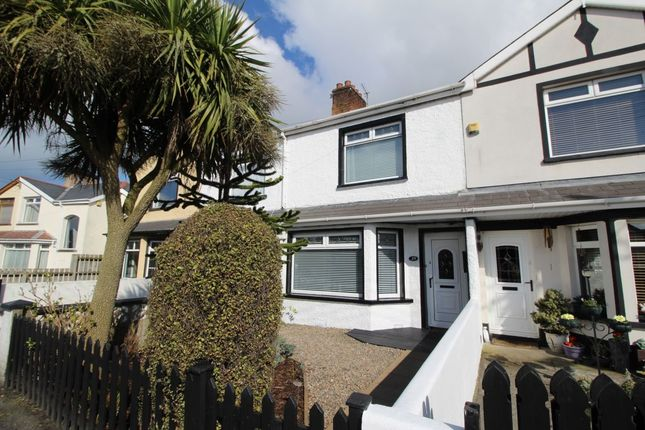 Thumbnail Terraced house to rent in Oakwood Avenue, Bangor