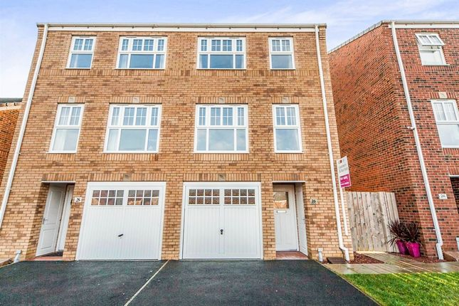 Thumbnail Town house for sale in Faraday Drive, Stockton-On-Tees