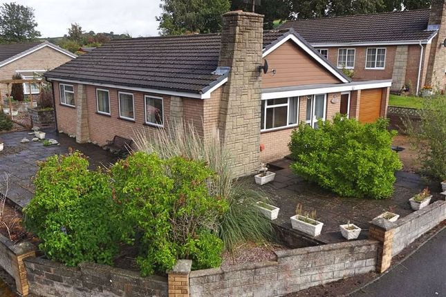 Thumbnail Bungalow for sale in Penarron View, 39, Chestnut View, Kerry, Newtown, Powys