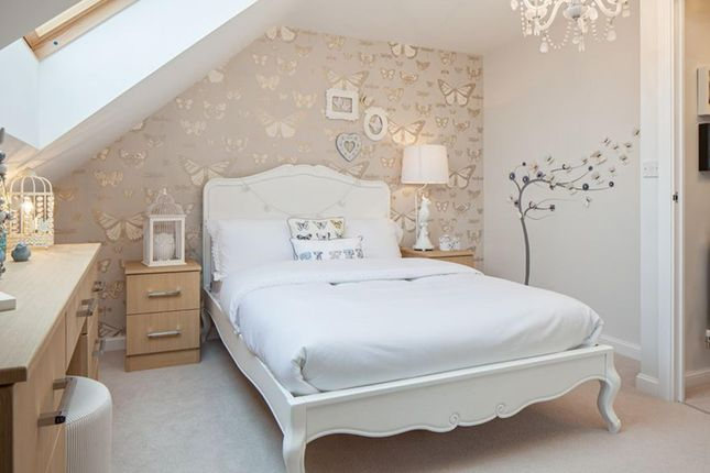 "Thumbnail Semi-detached house for sale in ""Helmsley"" at Riddy Walk, Kempston, Bedford"