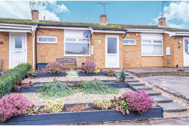 Thumbnail Terraced bungalow for sale in Beaumont Walk, Leicester