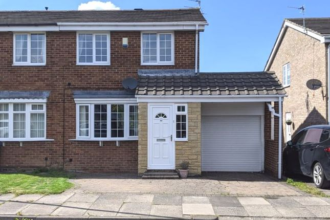3 bed semi-detached house for sale in Dorchester Court, New Hartley, Whitley Bay NE25