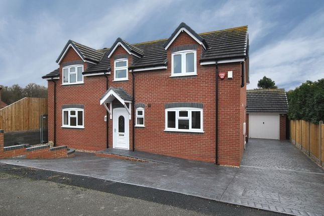 Thumbnail Detached house for sale in Moss Road, Wrockwardine Wood, Telford, Shropshire