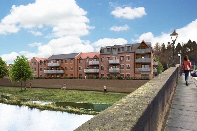 Thumbnail Flat to rent in William Turner Court, Morpeth, Northumberland