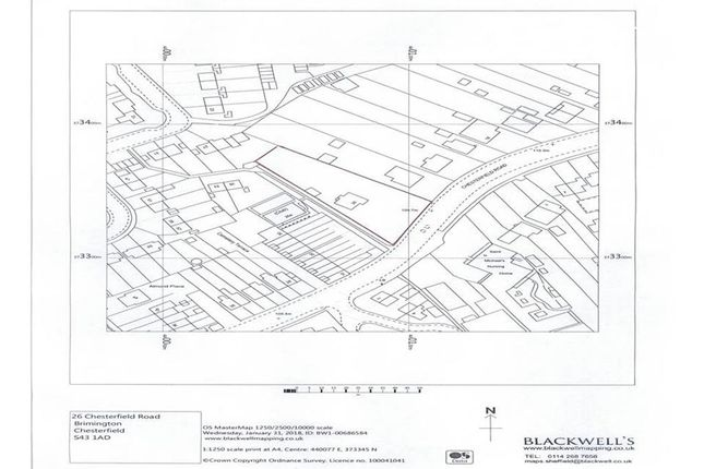 Thumbnail Land for sale in Chesterfield Road, Brimington, Chesterfield