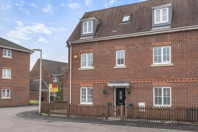 Thumbnail Town house for sale in Battalion Way, Thatcham