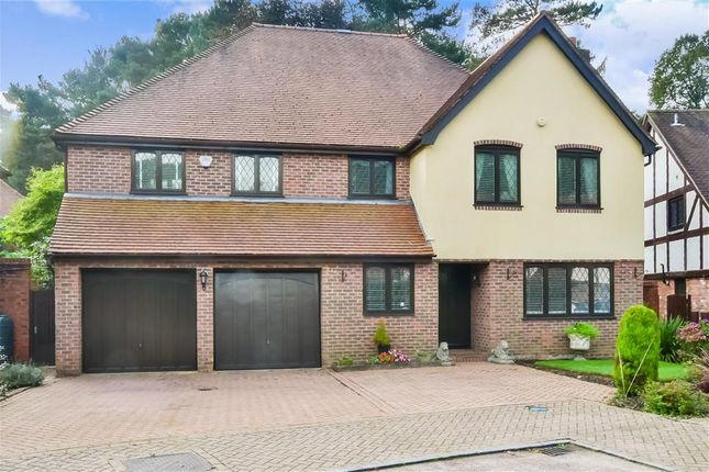 Thumbnail Detached house for sale in Trittons, Tadworth, Surrey