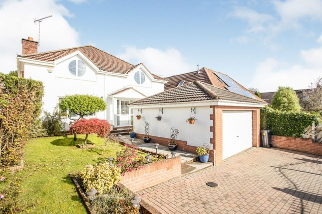 Thumbnail Detached house for sale in Heol Y Pentre, Pentyrch, Cardiff