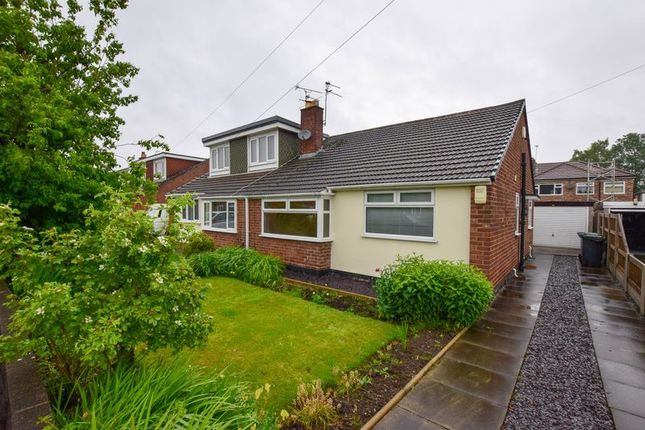 Thumbnail Semi-detached bungalow to rent in Selworthy Drive, Thelwall, Warrington