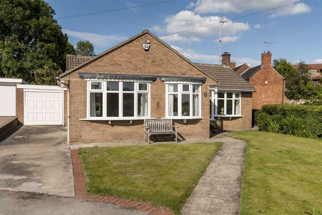 Thumbnail Detached bungalow for sale in St. Andrews Close, The Delves, Swanwick, Alfreton